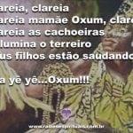 Saudamos mamãe Oxum, deusa das cachoeiras!