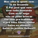 Salve as almas!!! Salve os pretos Velhos!!!