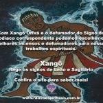 Xangô Orixá e o defumador do signo do Zodíaco na Umbanda
