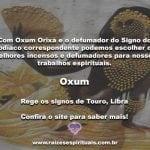 Oxum Orixá e o defumador do signo do Zodíaco na Umbanda