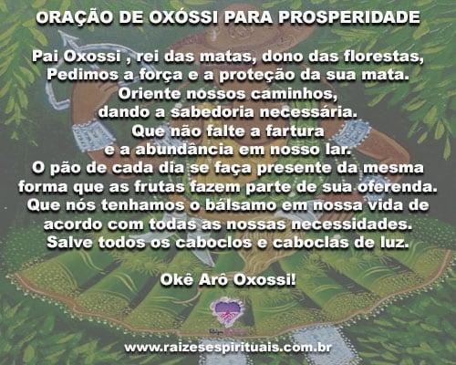 Poderosa Oração De Oxóssi Para Pedir Prosperidade