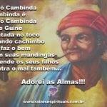 Salve a sabedoria de Vovó Cambinda!!!