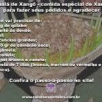 Amalá de Xangô – comida especial de Xangô para fazer seus pedidos e agradecer