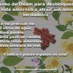 Banho de Oxum para desbloquear a vida amorosa e atrair um amor verdadeiro