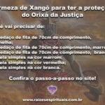 Firmeza de Xangô para ter a proteção do Orixá da Justiça