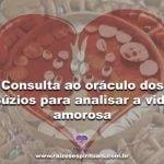Consulta ao oráculo dos Búzios para analisar a vida amorosa