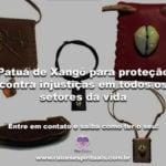 Patuá de Xangô para proteção contra injustiças em todos os setores de sua vida