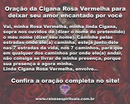 902c08ee7bb24 Oração a Cigana Rosa Vermelha para deixar seu amor encantado por você