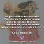 Pai da justiça, proteja-nos contra todos os inimigos