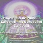 Hoje é dia de Nanã!!! Saluba Nanã Buruquê!!! Saluba!!!