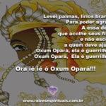 Salve Oxum Opará! Deusa do amor, da beleza e grande guerreira!