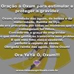 Poderosa oração a Oxum para estimular e proteger a gravidez