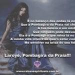 Salve a feiticeira Pombagira da Praia! Laroyê!!!