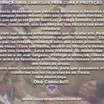 No mês de Omulú, aprenda uma forte oração aos Caboclos para cura e proteção!