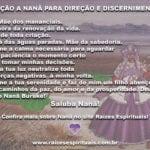 Aprenda uma forte oração a Nanã para pedir direção e discernimento