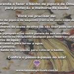 Aprenda a fazer o banho de pipoca de Omulú para proteção e melhoria da saúde