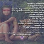 Salve Cabocla Jurema, cabocla de pena filha de tupinambá!