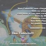Salve o Caboclo Sete Flechas, o Caboclo curador da Umbanda!