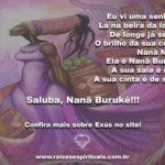 Saluba, Nanã Burukê!!! Sábia anciã, mãe e avó amorosa!
