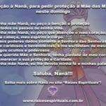 Oração à Nanã, para pedir proteção à Mãe das Mães neste domingo