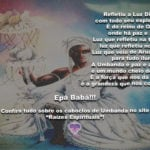 Salve o reino de Oxalá, onde reina a paz e amor! Epà Babá!!!