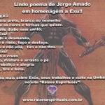 Confira um lindo poema de Jorge Amado em homenagem a Exú!