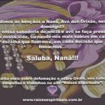 Pedimos as bênçãos a Nanã, Avó dos Orixás, neste domingo!!!