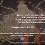 Que Omulú seja sempre Luz e saúde em nossas vidas. Atotô!!!