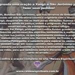 Aprenda uma oração a Xangô e São Jerônimo para fazer seus pedidos!