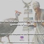 Itan de Oxalá sobre a criação da galinha d'Angola.