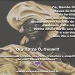 Ora Yê Yê Ô Oxum! Deusa da beleza, da fertilidade, dos rios e cachoeiras!