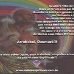 Nesta terça-feira, pedimos as bênçãos a Pai Oxumarê, senhor do arco-íris. Arroboboi!
