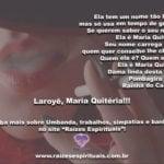Salve Dona Maria Quitéria, pombagira de fé, Rainha do cabaré! Laroyê!!!