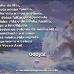 Confira uma linda oração a  Iemanjá, Orixá Mãe, rainha dos mares!!!