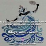 Ponto de Iemanjá, minha mãe, olhando pra suas ondas pra sempre vou confiar…