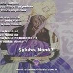 Oh Nanã Burukê ilumina e abençoa seus filhos em mais este domingo!