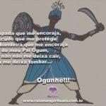 Salve a força e a proteção de nosso Pai Ogum guerreiro! Ogunhê!!!