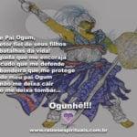 Salve Pai Ogum, Protetor fiel de seus filhos nas batalhas da vida! Ogunhê!!!
