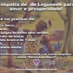 Simpatia de Logunedé para trazer amor e prosperidade!