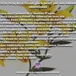 Forte oração a Oxum para pedir por um sábado abençoado