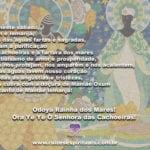 Que neste sábado, Oxum e Iemanjá tragam a purificação e a fartura…
