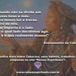 Ensinamento de Caboclo: nossos amados mestres e guias de Umbanda!