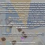 Ó poderoso Pai Oxalá, aspiração suprema… Epà Babá!!!