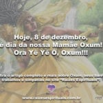 Hoje, 8 de dezembro, é dia da nossa Mamãe Oxum! Ora Yê Yê Ô, Oxum!!!
