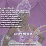 Minha mãe é Nanã, é o Orixá mais velho do céu! Firma seu filhos…