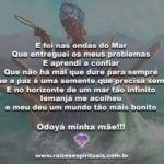 E foi nas ondas do Mar Que entreguei os meus problemas!