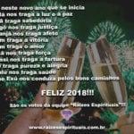 FELIZ 2018!!!  Que neste novo ano que se inicia  Oxalá nos traga a luz e a paz!!!