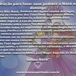 Confira uma oração para fazer seus pedidos a Nanã no domingo