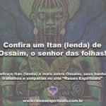 Confira um Itan (lenda) de Ossaim, o senhor das folhas!