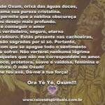 Mamãe Oxum, orixá das águas doces, Derrama sua pureza cristalina…